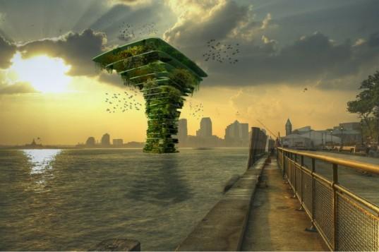 Морское Дерево от Waterstudio.nl станет заповедником местной флоры и фауны