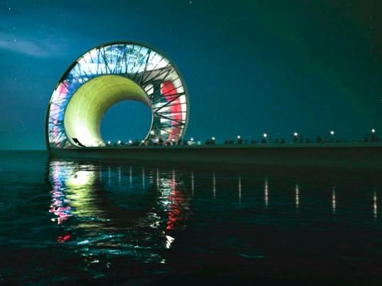 Дизайн-группа BIG украсит пирс во Флориде потрясающей волнообразной структурой