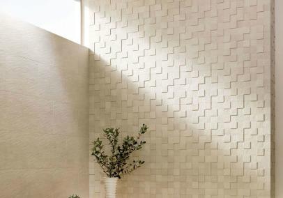 Плитка для стен и пола ECOCARAT от Global Inax поглощает запахи и влагу