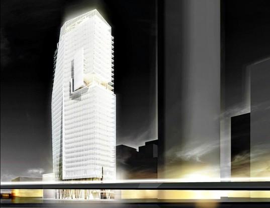 Richard Meier & Partners представляет новый небоскреб в Мехико