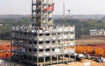 200 китайских рабочих-строителей возвели 30-этажный отель всего за 15 дней