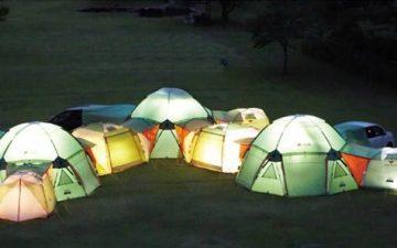 Logos Decagon: бесконечно расширяемая модульная палатка