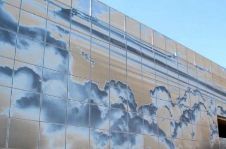 Черепичные панели с инновационной оптической системой Ombrae от Surface Gallery