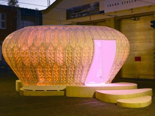 Cocoon_FS: портативный сборный дом, похожий на фитопланктон
