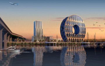 Гигантская «Монета счастья» будет построена в Китае