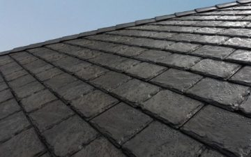 Экологичная кровля Euroshield Roofing изготовлена из использованных шин