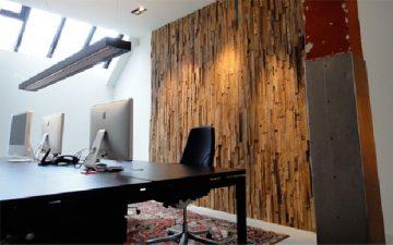 Грубые и вычурные: новые деревянные стеновые панели от студии Wonderwall