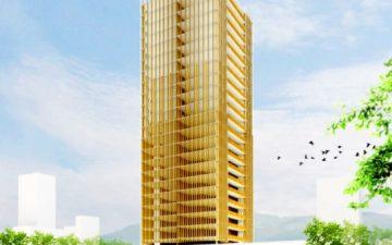 Майкл Грин представляет деревянную башню Tall Wood и инструкцию по возведению небоскребов из дерева