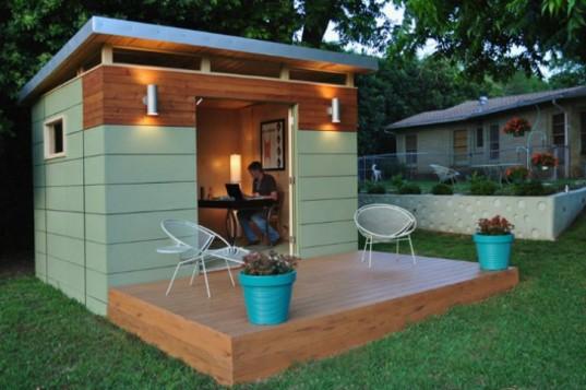 Kanga Room Systems предлагает комплекты экологичных сборных домов