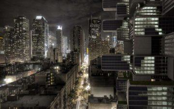Необычный жилой небоскреб поглощает углекислый газ и производит энергию