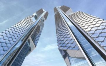 «Танцующие драконы»: современные технологии и традиции в новом небоскребе