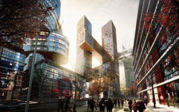 В Сеуле будет построен новый коммерческий центр «Cross # Towers»