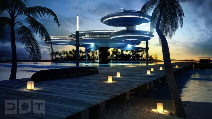 Сногсшибательный проект подводного отеля в Дубаи от Deep Ocean Technology