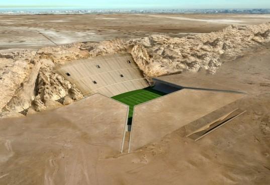 MZ Architects планируют построить в пустыне Аль-Айн «зеленый» стадион