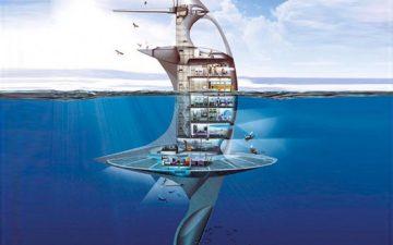 SeaOrbiter: проект футуристического корабля для морских исследований готов к строительству