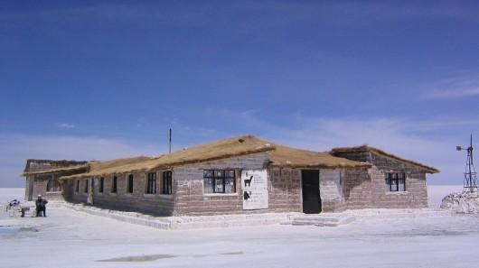 Паласио-де-Саль: отель, полностью построенный из соли