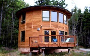 Старая технология на новый лад, или почему наши предки строили круглые дома
