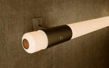 Светящиеся светодиодные перила для освещения темной лестничной клетки