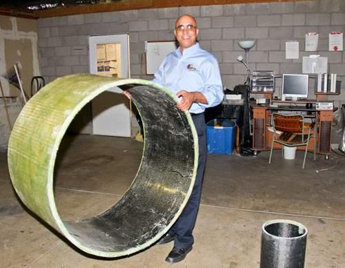 Профессор из университета Аризоны изобрел легкий бесконечный трубопровод