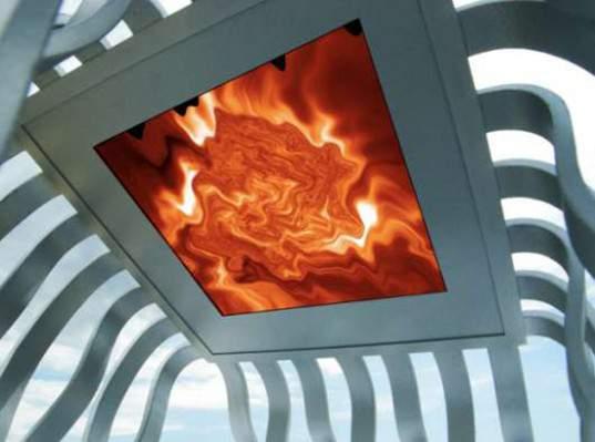 Новый павильон Solar Eclipse от Майкла Янцена покажет активность Солнца