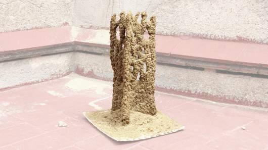Stone Spray строит архитектурные элементы с нуля... буквально
