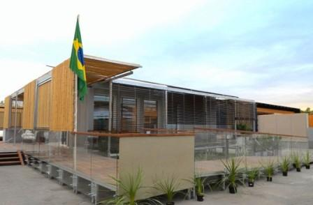 Сборный Эко-Дом: удивительно устойчивое решение жилищного строительства от команды Бразилии