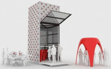 3D-принтер KamerMaker может напечатать комнату из био-пластика