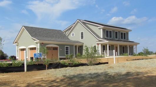 Пригородный дом будет демонстрировать нулевое энергопотребление в течение года