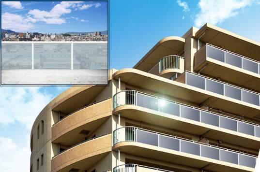 Sharp представляет прозрачные солнечные панели для балконов и окон