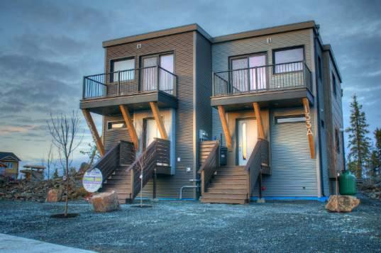 2-квартирный сборный дом SMPLyMod: новый энергосберегающий дизайн для сурового климата