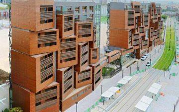Basket Apartments: устойчивое общежитие для студентов в Париже
