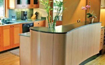 Columbia Forest Products представляет новый материал для отделки: гибкую фанеру Radius®