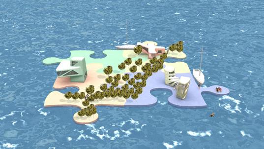 Архитекторы из Голландии построят самодостаточный остров-дом из океанского пластикового мусора