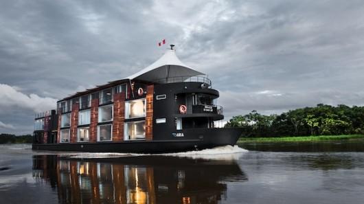 Плавучий отель на реке Амазонке позволит гостям насладиться красотами окружающей природы