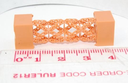 Балки из фрактальных структур, созданных с помощью 3D-печати, в 10000 раз прочнее стали