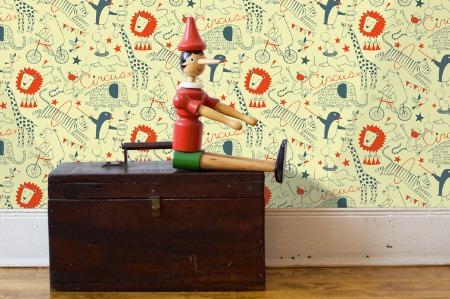 Новые дизайнерские обои для детской комнаты от Loboloup