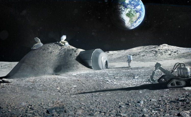 База на Луне, «напечатанная» 3D-принтером, может стать реальностью?