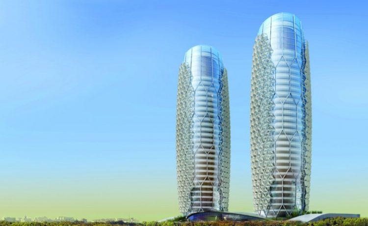 Модернизированная Машрабия: смарт-оболочка для башни Аль Бахар скоро будет готова