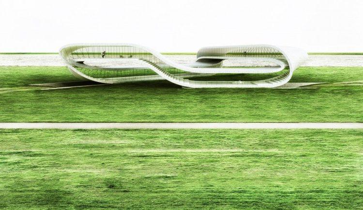 «Бесконечное» здание будет построено с помощью гигантского 3D-принтера