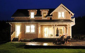 Сборные дома серии Cottage от компании Method Homes: колониальный стиль по-современному