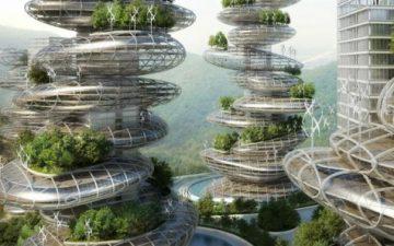 Французы предложили для города Шеньчжень необычные и самодостаточные небоскребы