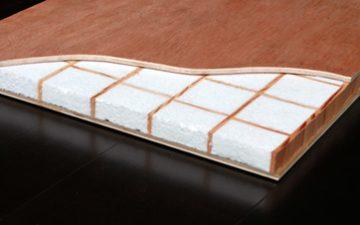 Новые сэндвич-панели Sing Honeycomb от Singcore с изоляционным ядром в виде решетки