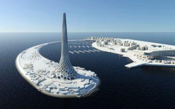 В Саудовской Аравии построен уникальный маяк с естественной вентиляцией