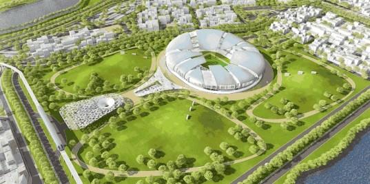В Катаре будет построен стадион, в котором ветер будет использоваться для охлаждения