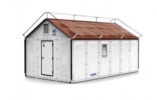 IKEA представляет дом на солнечных батареях, легко адаптируемый для аварийного жилья