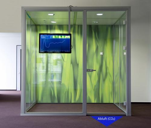 Интеллектуальная система уплотнения двери поможет улучшить качество воздуха в помещении