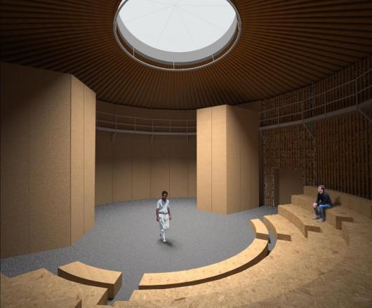 Театр Paper Bale предлагает актерам возможность играть на экологически чистой сцене