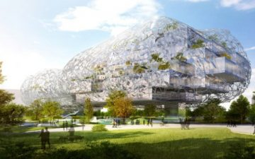 RMJM представила проект культурного центра в форме облака для Тайчжуна, Тайвань