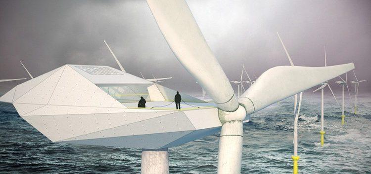 Фантастические жилые апартаменты на вершинах ветровых турбин от Morphocode