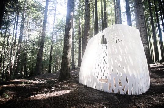 Echoviren: первый в мире 3D-печатный павильон построен в Калифорнии